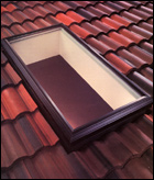 Curb Mounted Fixed Skylight (Velux)